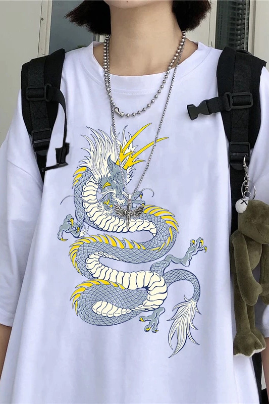 Ejderha Desenli Tişört