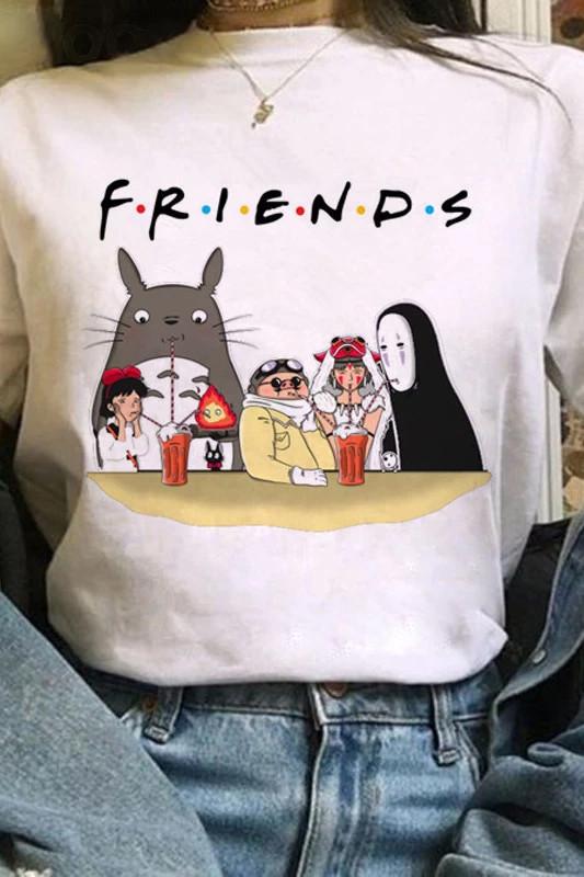 Friends Baskı Tişört